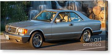 1986 Mercedes 560 Sec Canvas Print