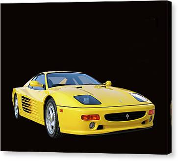 1995 Ferrari F512m Canvas Print