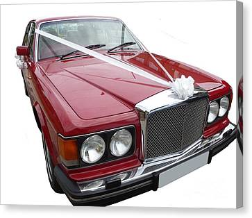1997 Bentley Turbo R Canvas Print