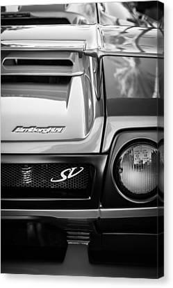 1998 Lamborghini Diablo Roadster Monterey Sv Edition Taillight -0278bw Canvas Print by Jill Reger