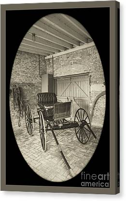 19th Century Carriage Canvas Print