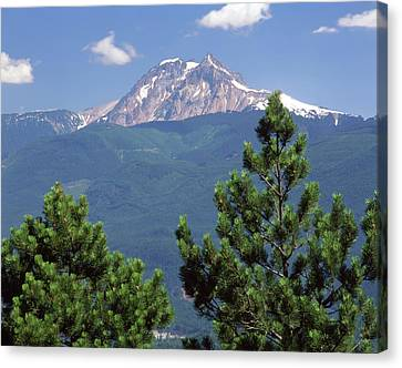 1m2921 Mt Garibaldi From Stawamus Chief 2 Canvas Print by Ed Cooper Photography