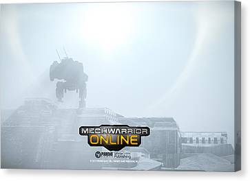 1 Other Video Games Mecha                  Canvas Print by F S