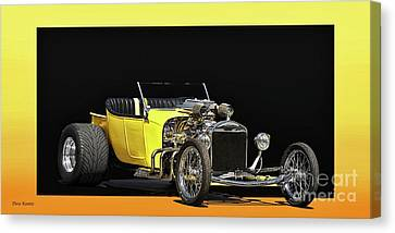 1923 Ford Model T Roadster Pickup Canvas Print