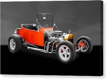 1923 Ford T-bucket Street Rod Canvas Print by Frank J Benz