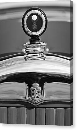 1926 Cadillac Series 314 Custom Hood Ornament Canvas Print by Jill Reger