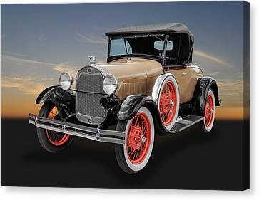 1929 Ford Model A Convertible Canvas Print