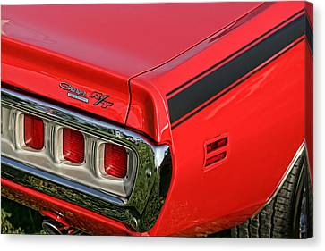 1971 Dodge Charger Rt Canvas Print by Gordon Dean II