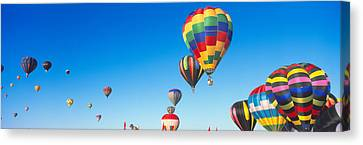 Balloon Festival Canvas Print - 25th Albuquerque International Balloon by Panoramic Images