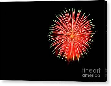 4th Of July Fireworks. Canvas Print