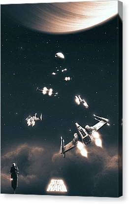 A New Hope Canvas Print by Colin Morella