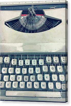A Vintage Typewriter Canvas Print