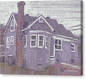 Abandoned House Canvas Print