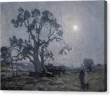 Black Artist Canvas Print - Abraham's Oak by Henry Ossawa Tanner