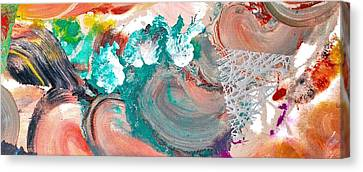 Abstract Acrylic Painting Picture Canvas Print