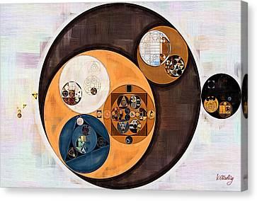 Vista Canvas Print - Abstract Painting - Wood Bark by Vitaliy Gladkiy