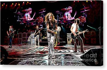 Aerosmith Collection Canvas Print