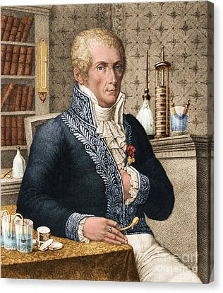 Alessandro Volta, Italian Physicist Canvas Print by Omikron