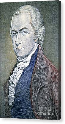 Founding Fathers Canvas Print - Alexander Hamilton by American School