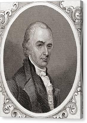 Founding Fathers Canvas Print - Alexander Hamilton by English School