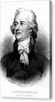 Founding Fathers Canvas Print - Alexander Hamilton by John Trumbull