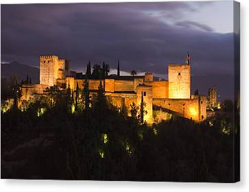 Alhambra Canvas Print by Andre Goncalves