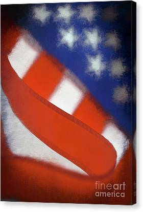 American Flag Canvas Print by George Robinson