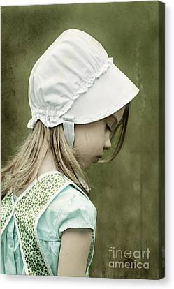 Amish Child Canvas Print