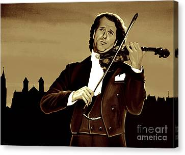 Andre Rieu Canvas Print by Meijering Manupix