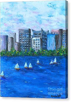 Art Study Canvas Print by Reina Resto