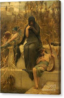 Arthur Hacker  Canvas Print by MotionAge Designs
