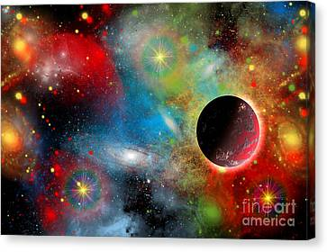 Artists Concept Illustrating Canvas Print by Mark Stevenson