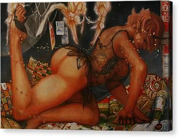 As I Am Canvas Print by Ralph Nixon Jr