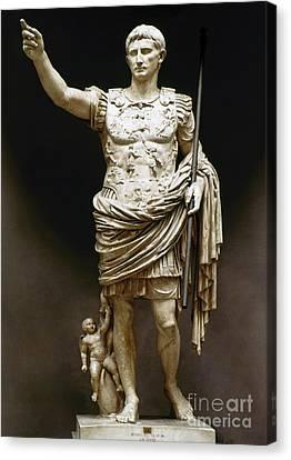 Augustus (63 B.c.-14 A.d.) Canvas Print