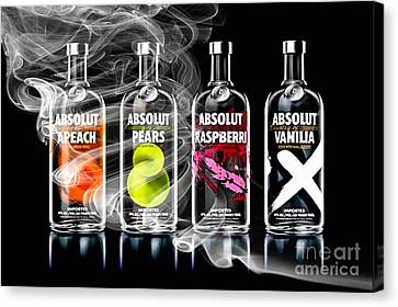 Bar Collection Canvas Print