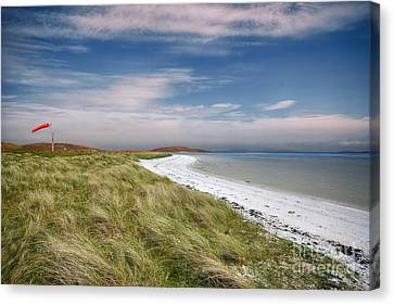 Barra Airport Canvas Print by Nichola Denny