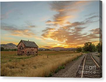 Beautiful Sunrise Canvas Print by Robert Bales