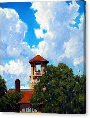 Bell Tower Canvas Print by Kevin Lawrence Leveque