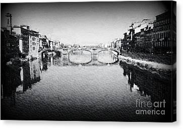Bella Firenze Canvas Print by Eva Maria Nova