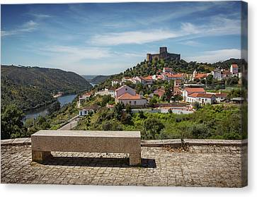 Canvas Print featuring the photograph Belver Landscape by Carlos Caetano