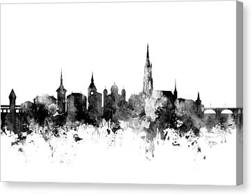 Bern Switzerland Skyline Canvas Print
