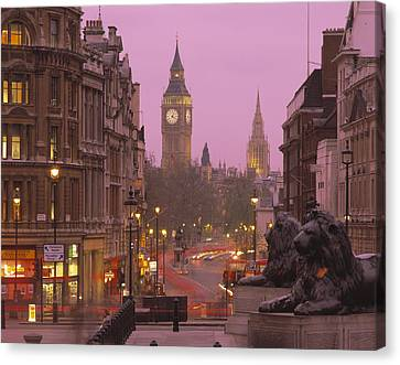 Big Ben London England Canvas Print by Panoramic Images