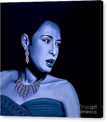 Performers Canvas Print - Billie Holiday by Meijering Manupix