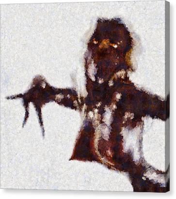 Bizarre Erotica Canvas Print by Esoterica Art Agency