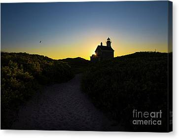 Block Island North Lighthouse Canvas Print
