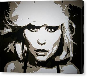 Blondie Canvas Print by Dan Carman