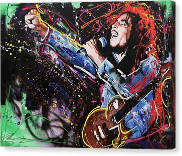 Bob Marley Canvas Print by Richard Day