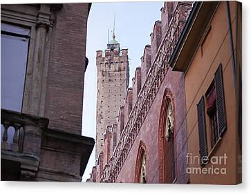 Bologna Tower Canvas Print