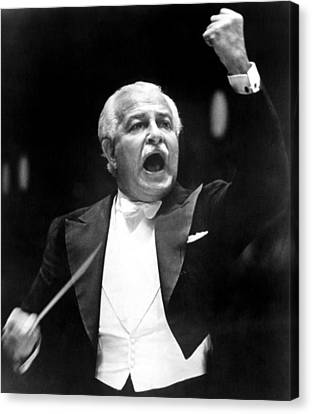 Boston Pops Orchestra Conductor, Arthur Canvas Print by Everett