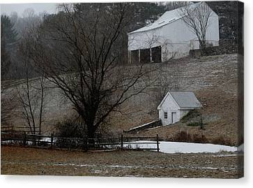 Brandywine Springhouse Canvas Print by Gordon Beck